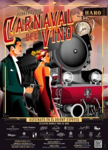 Carnaval del Vino de Haro ruta y folleto