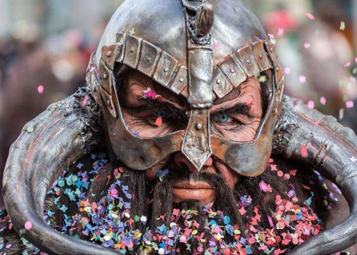 Colores mágicos en el carnaval de Múnich