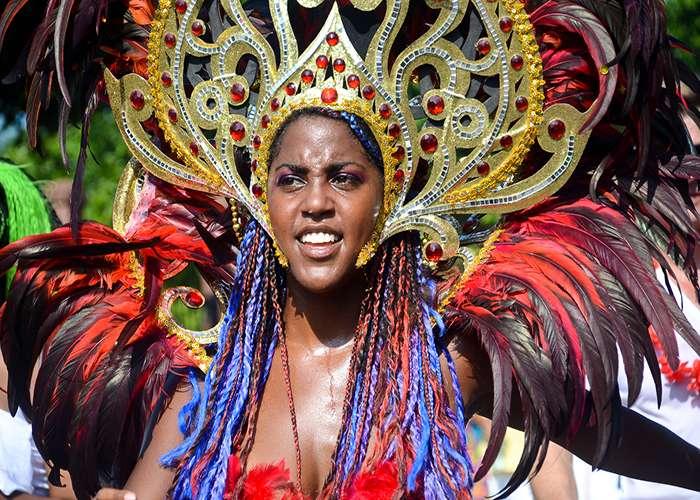 Durante el carnaval de Limón se proclaman las reinas del carnaval
