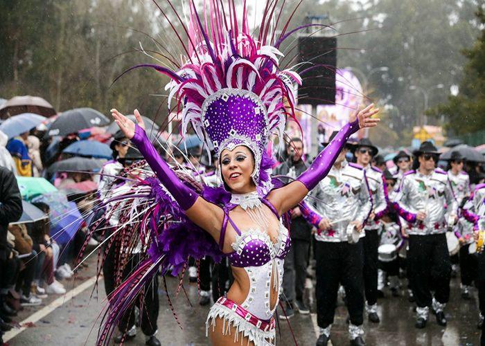 Los carnavales de Ovar son uno de los más importantes de la región y cuentan con al menos 100 años de antigüedad