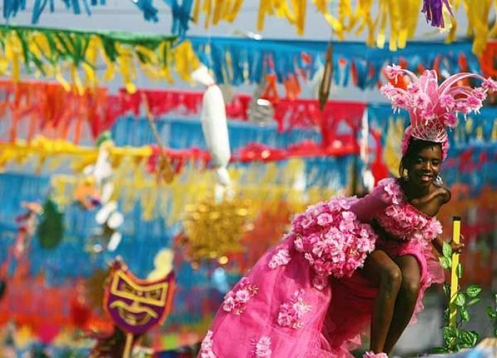 Los carnavales de La Ceiba es la segunda más grande del país