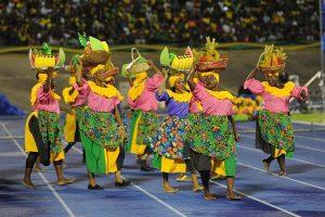 Diferentes presentaciones culturales se llevan a cabo durante el festival de la Independencia de Jamaica