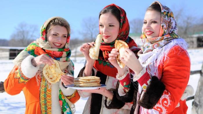 Durante toda la semana de Máslenitsa se comen panqueques