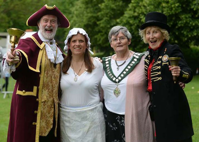 El Carnaval de Bishop's Stortford se lleva a cabo con la participación y colaboración de la población