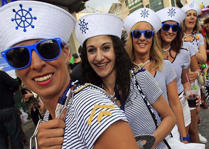 El Carnaval de Redondela es una celebración que nació hace pocos años que emergió como una festividad familiar y social