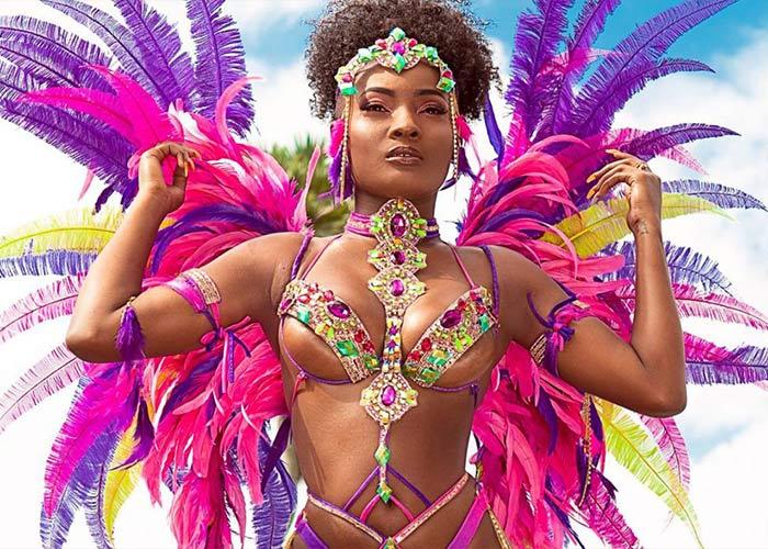 El Carnaval en Guyana es un evento privado en donde las personas adquieren paquetes de servicios con su disfraz