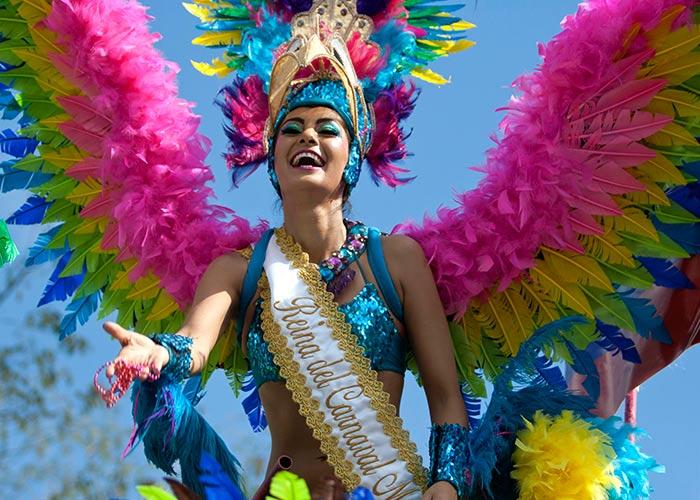 El Carnaval en Mérida Yucatán se ha reinventado con los años e incluyendo elementos como los Reyes de Carnaval