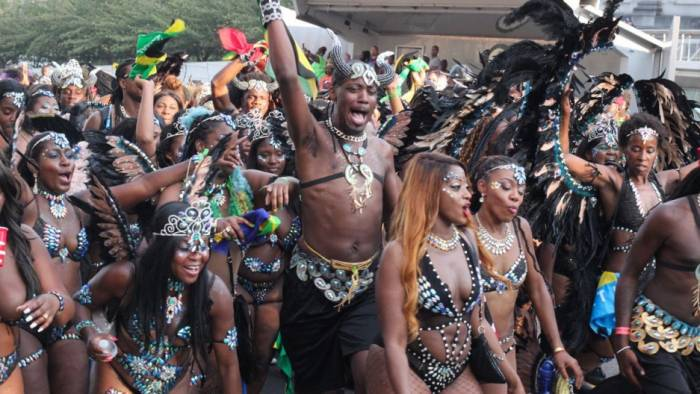El J'ouvert es uno de los atractivos del carnaval de las Indias Occidentales de Nueva York