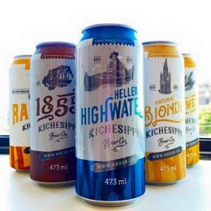 El Kichesippi Beer es una cervecería local con múltiples opciones de bebidas