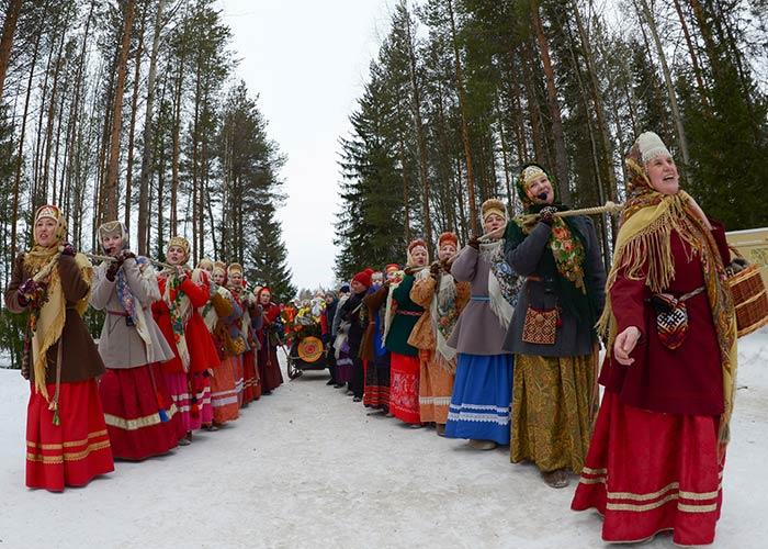 El Máslenitsa es una celebración en Rusia para despedirse del invierno y saludar a la primavera