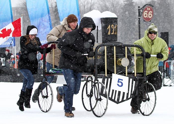 El Winterlude es una festividad de invierno que abarca cientos de actividades