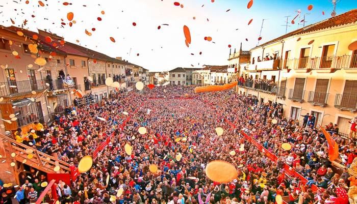 El campanazo de los carnavales de Ciudad Rodrigo da inicio a las celebraciones