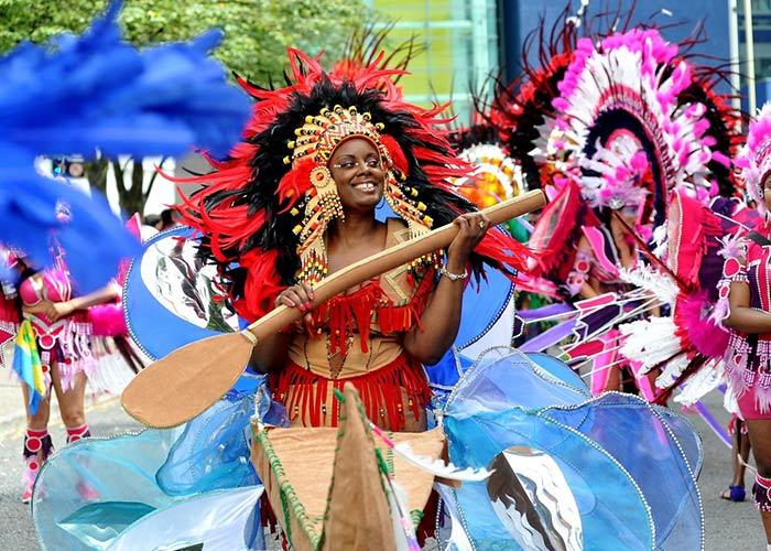 El carnaval caribeño de Leicester es un vehículo para la expresión cultural y la celebración del sentimiento caribeño