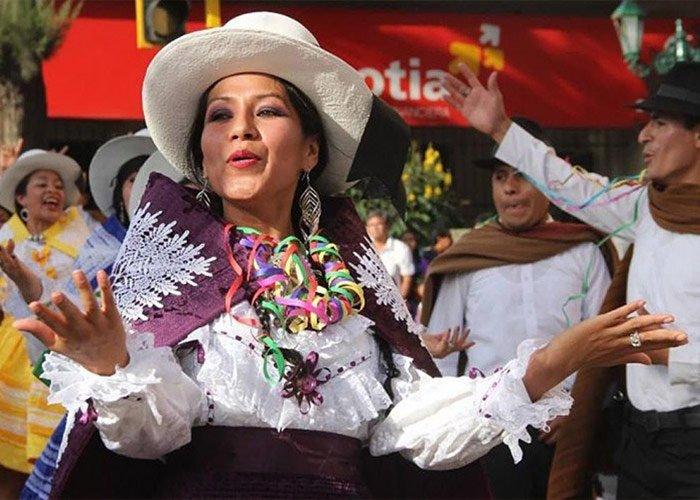 El carnaval de Abancay es una celebración que honra a las tradiciones locales