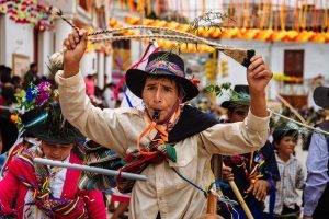 El carnaval de Pukllay es un espacio para que las agrupaciones lleven a cabo bailes de representación cultural