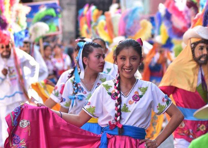 El carnaval de Tlaxcala es una representación cultural del estado de Tlaxcala