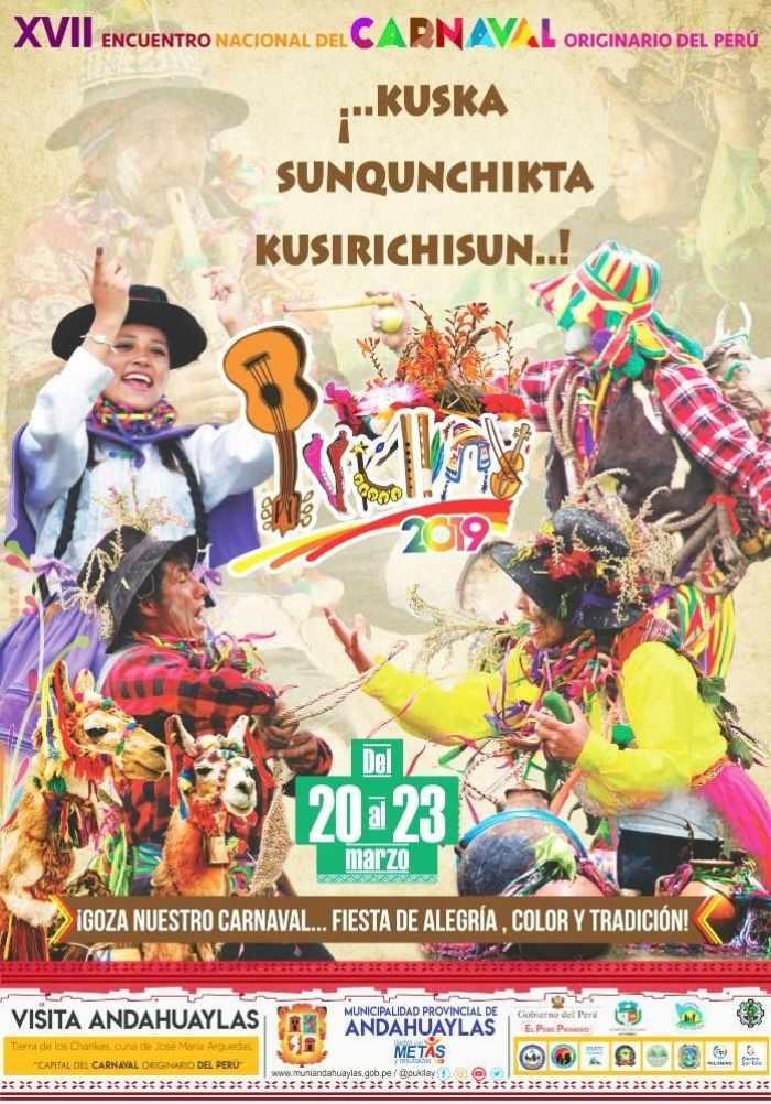 El proyecto del carnaval de Pukllay integra a diferentes comunidades del país en un pasacalle que ocupa las vías principales