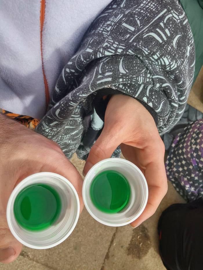 El xastré es una bebida típica de Laza