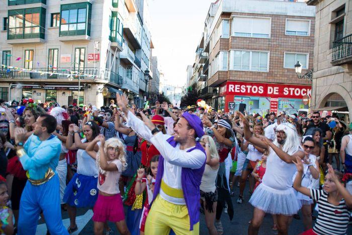 En el carnaval de Redondela se realizan actividades para todas las edades