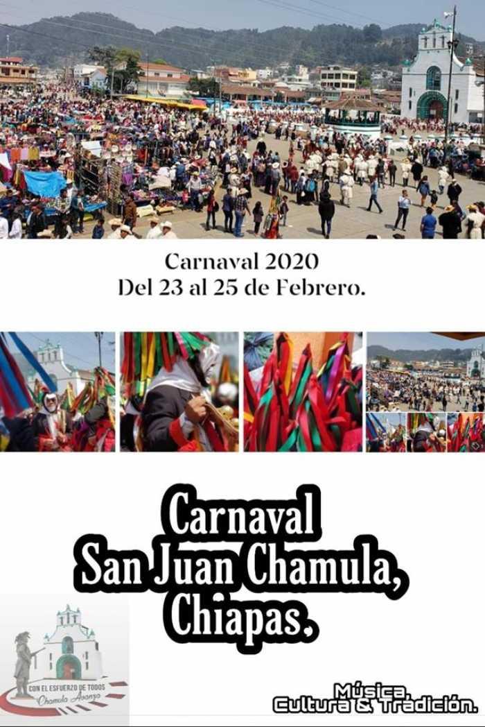 En los carnavales de San Juan Chamula se realizan recorridos por los manantiales