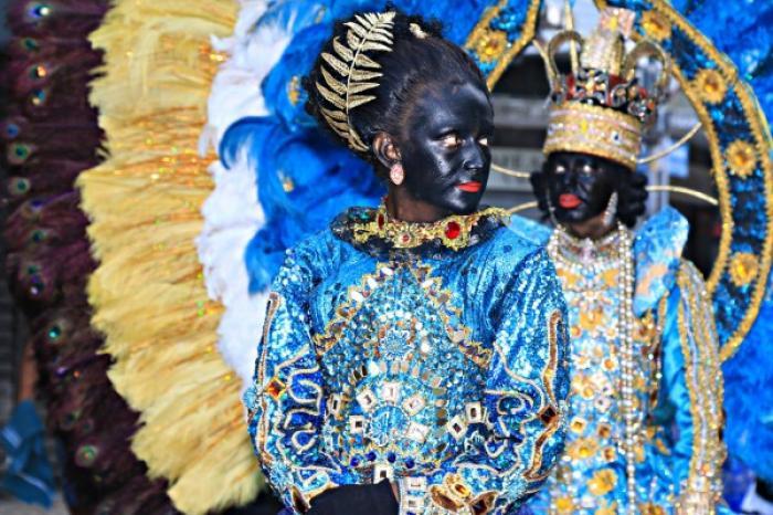 Es tradición que durante los carnavales de Fortaleza se pinten las caras con hollín