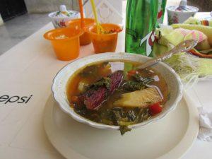 La carne Chamula es uno de los platos típicos del poblado
