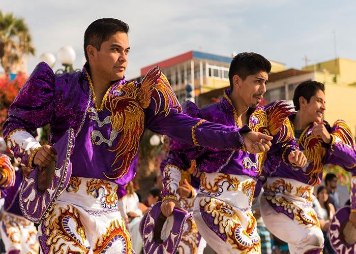 La celebración de los carnavales en Arica es una ceremonia que promueve la cultura y tradición de Chile, Perú y Bolivia