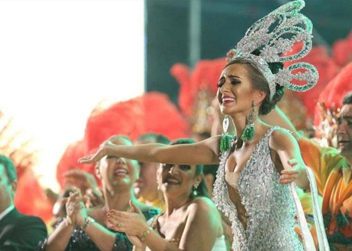 La figura de la Reina del Carnaval en el carnaval de Santa Cruz de la Sierra es de gran importancia y se celebra desde hace décadas