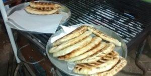 Las tortillas son típicas de la zona y se rellenan de múltiples ingredientes