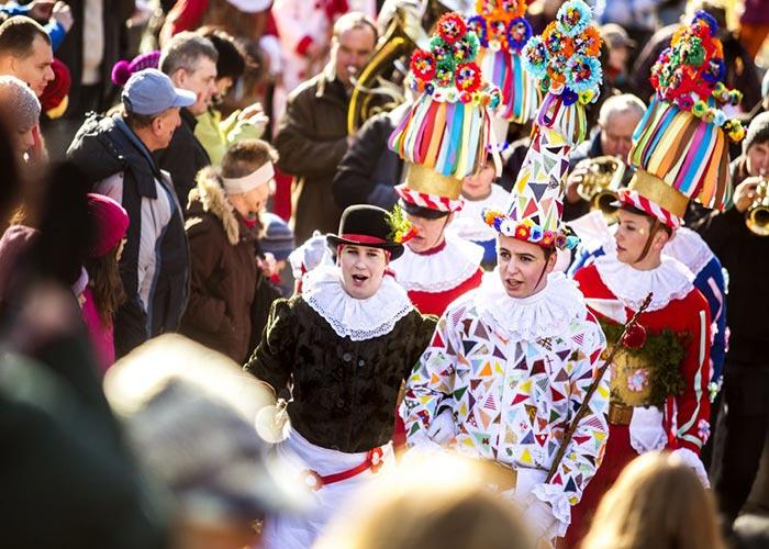 Los carnavales de Vortová ha mantenido sus tradiciones casi intactas desde el comienzo