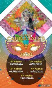 Los desfiles infantiles y profesionales del carnaval de Villa Ángela se realizan en el sambódromo