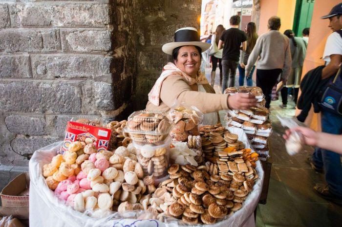 Los dulces de Balay son peque;os duicles que se consumen durante los caranvales y semana santa en Ayacucho