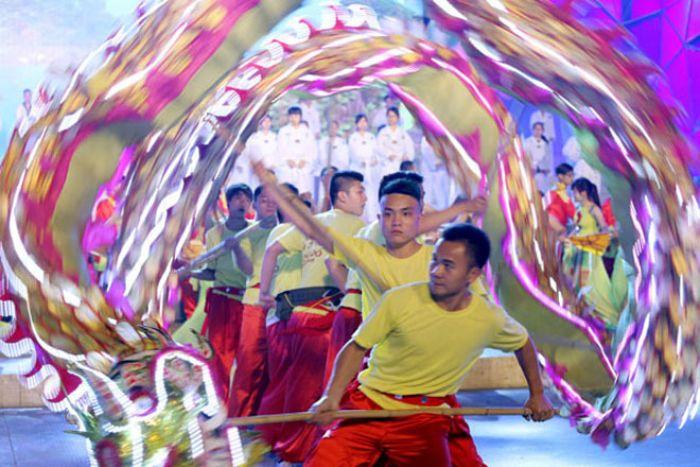 Los espectáculos del carnaval de Ha Long son una obra de arte para la vista