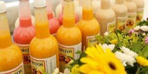 Los toritos son una bebida típica de la región con azúcar, leche, alcohol y fruta