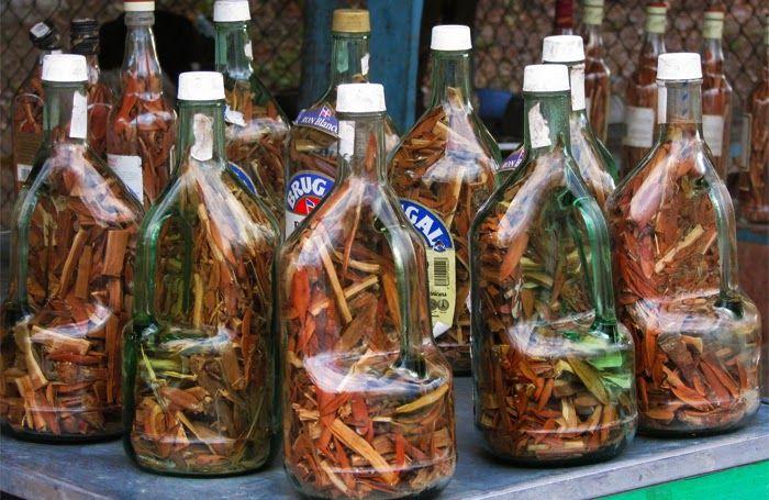Mamajuana es una bebida tradicional de la región