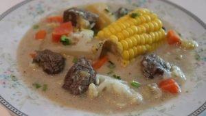 El Metemgee es un plato típico de Guyana elaborado con tubérculos