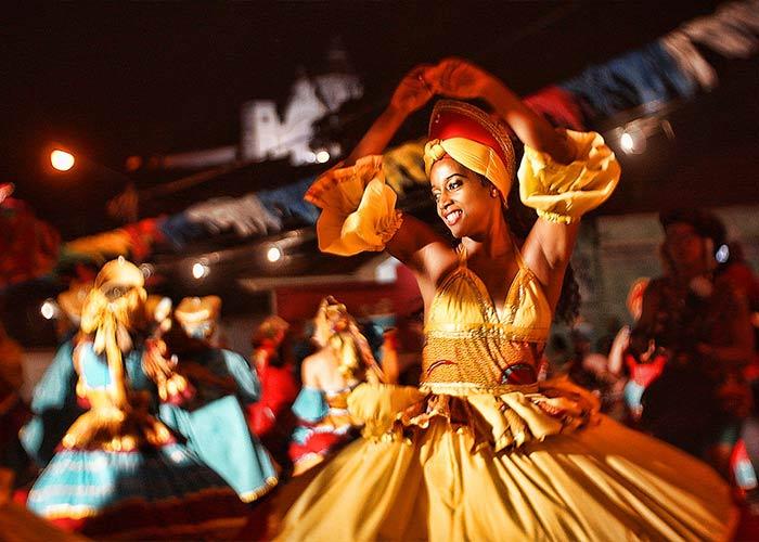 La noche de los tambores silenciosos en el Carnaval de Recife y Olinda es una de las ceremonias tradicionales más importantes
