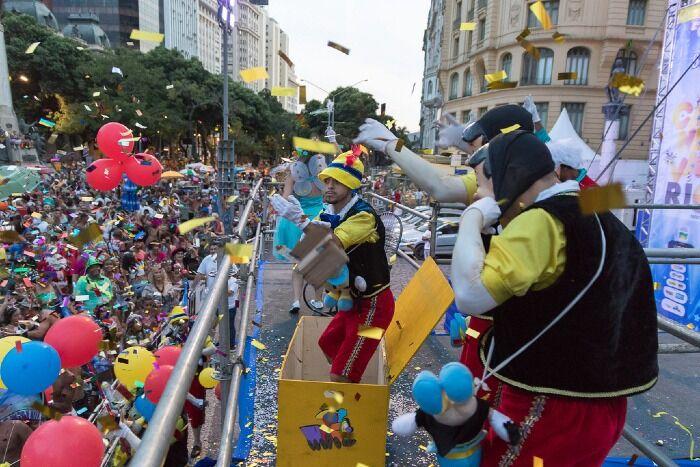 El Baile de Cinelandia es una fiesta popular y gratuita durante el Carnaval de Río de Janeiro