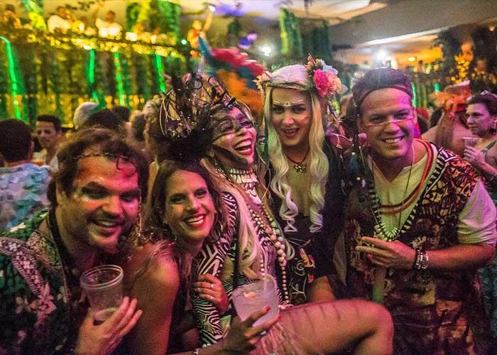 El Baile de Sarongue es una experiencia única de Carnaval de Río de Janeiro