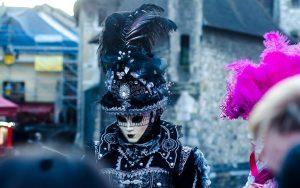 El Carnaval Veneciano de Annecy es la viva réplica del carnaval originario de Venecia