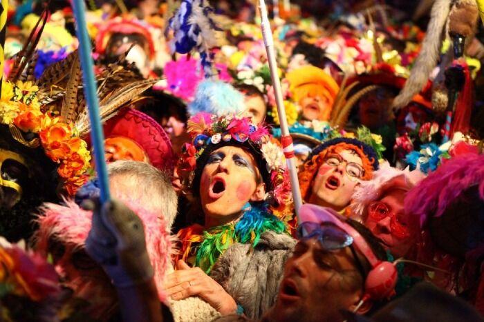 El Carnaval de Dunkerque es el carnaval más salvaje de Francia