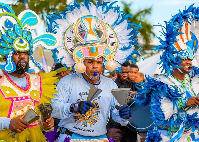El Carnaval de Junkanoo es uno de los más impresionantes en todo el Caribe