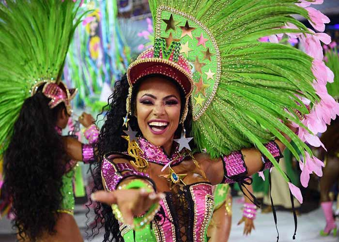 El Carnaval de Río de Janeiro es considerado el mejor en todo el mundo