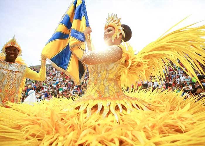 El Carnaval de Río de Janeiro es el mejor del país