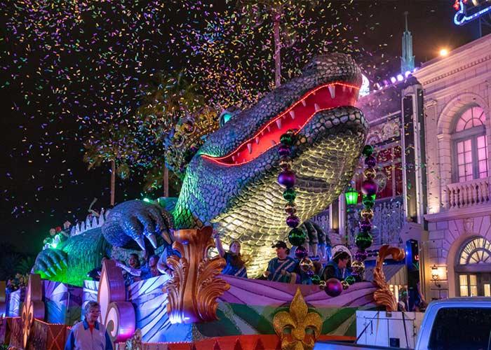 El Carnaval de Universal Studios ofrece una gran cantidad de eventos y atracciones