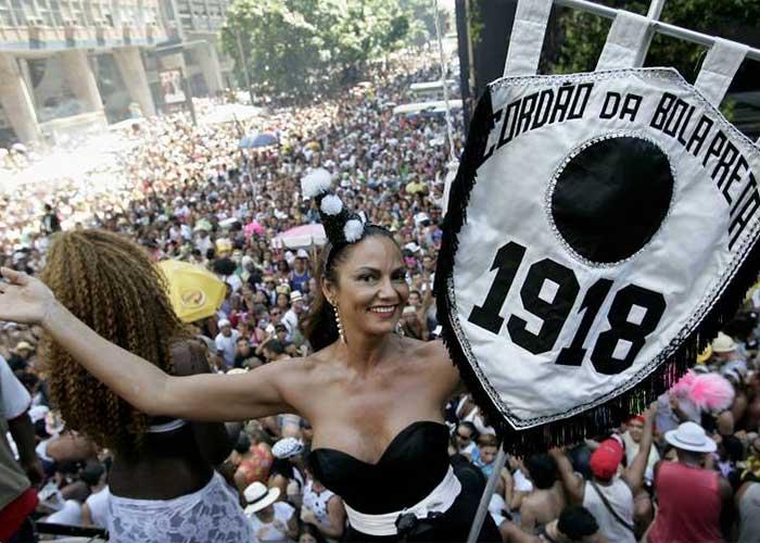 El Cordão da Bola Preta es el bloco más popular de la ciudad