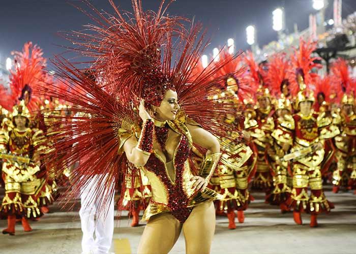 La Escuela de Samba Salgueiro es una de las principales en los carnavales