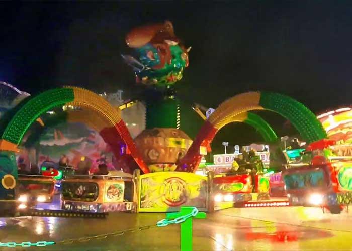 Los Carnavales de Aalst incluyen un parque de atracciones